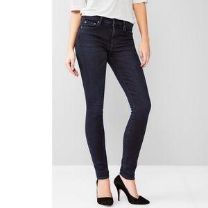 GAP 1969 Resolution True Skinny Jeans Size 28 Long